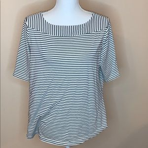 Downeast striped blouse